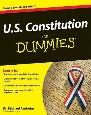 U.S. Constitution For Dummies By Arnheim, Michael/ Cruz, Ted (FRW)